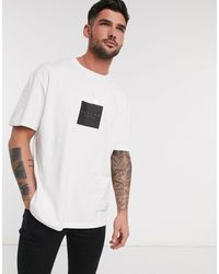 TOPMAN T-shirt With Back Print - White