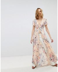 Free People - Deevine Open Maxi Layering Top - Lyst