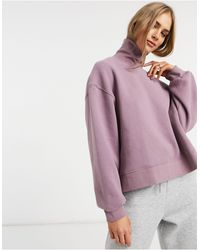 Native Youth Pull coupe carrée - mat - Violet
