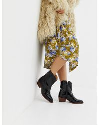 Free People - New Frontier Western Boot - Lyst