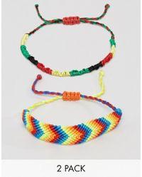 ASOS - Festival Bracelet Pack - Lyst