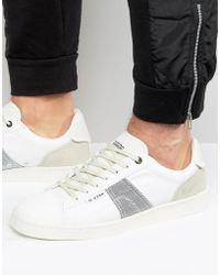 G-Star RAW Barton Trainers In White
