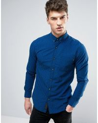 Produkt - Shirt In Gingham Check - Lyst