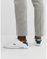 Lacoste Graduate Lcr3 118 1 Sneakers In White Leather