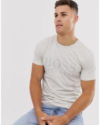 BOSS - Tonal Logo T-shirt - Lyst