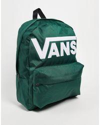 Vans Зеленый Рюкзак Old Skool Iii-зеленый Цвет