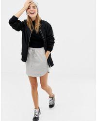 Glamorous Mini Skirt - Gray