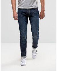 D-Struct - Skinny Fit Indigo Jeans - Lyst
