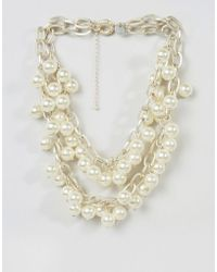 Abercrombie & Fitch | Abercrombie And Fitch Pearl Necklace | Lyst
