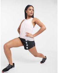 Nike - Розовая Майка Icon Clash-розовый Цвет - Lyst