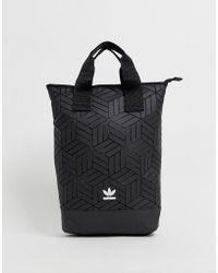adidas Originals - 3d Geometric Backpack In Black - Lyst