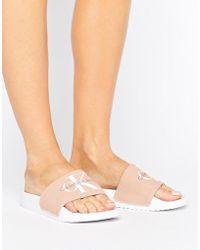 CALVIN KLEIN 205W39NYC - Jeans Chantal Blush Pool Slides - Lyst