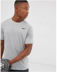 Nike Dry Tee Dri-fit Cotton Crew Solid - Black