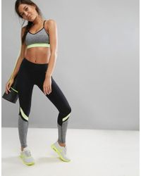 ELLE Sport - Performance Gym Leggings - Lyst