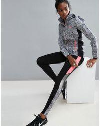 ELLE Sport - Snake Collection Training Gym Leggings - Lyst