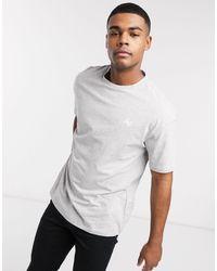 Jack & Jones - Oversized-футболка -серый - Lyst