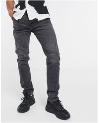 Weekday Friday Skinny Fit Jeans - Black