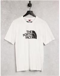 The North Face T-shirt décontracté coupe boyfriend - Blanc