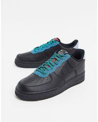 Nike Air Force 1 '07 LV8 4SP20 - Baskets - Noir