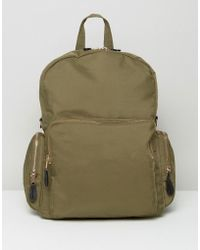 Monki - Pocket Utility Backpack - Lyst