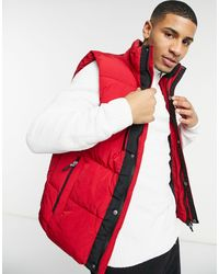 River Island Gilet - Red