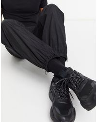 Weekday - Andrew - Joggers neri - Lyst