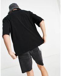 Collusion Camiseta negra extragrande - Negro