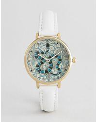 28007f0dc853 ASOS - Reloj con diseo bordado barroco de serpiente de - Lyst