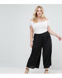ASOS - Awkward Length Plisse Pants - Lyst