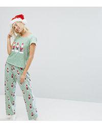 Monki - Gnome Dot Pyjama Set - Lyst