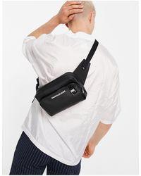 Calvin Klein Черная Сумка-кошелек На Пояс Из Искусственной Кожи С Логотипом -черный Цвет