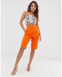 ASOS Pantalones cortos City - Naranja