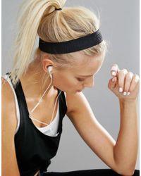Under Armour - Wide Logo Headband - Black - Lyst
