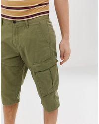 Esprit Pantaloncini cargo lunghi - Verde