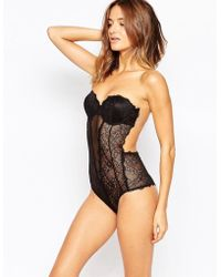 Fashion Forms - Lace Backless Strapless Body - Lyst