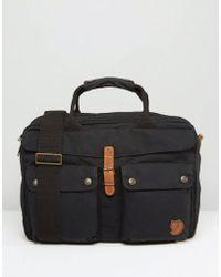 Fjallraven - Greenland 14l Laptop Bag Black - Lyst