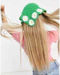 ASOS Crochet Headscarf - Green