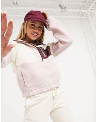 Columbia Lodge Sherpa Pullover Fleece - Pink