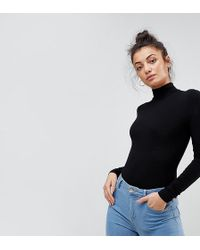 ASOS - Body With Long Sleeves And Turtle Neck - Lyst