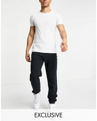 Fred Perry Logo joggers - Black