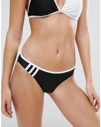 adidas Originals Originals Monochrome Block Triangle Bikini Set - Black