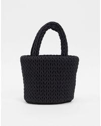 Weekday Padded Mini Bag - Black