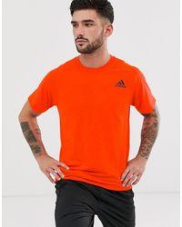 adidas Originals Trefoil T Shirt In Orange BQ1806