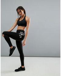 Hollister Active Logo Waist Band Legging - Black