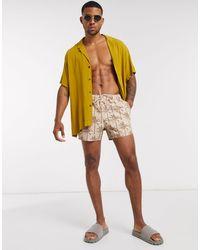 ASOS Swim Shorts - Natural