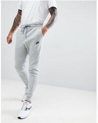 Nike – Tech – e Fleece-Jogginghose - Grau