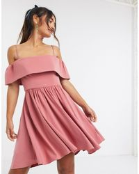 Forever New - Розовое Платье Мини -мульти - Lyst