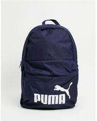 PUMA Темно-синий Рюкзак С Логотипом Phase