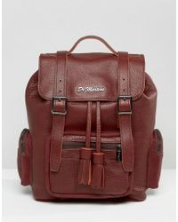 Dr. Martens - Slouch Leather Backpack - Lyst
