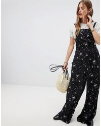 Free People - Sweet In The Streets Printed Jumpsuit - Lyst